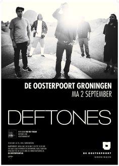 Deftones is een alternatieve metalband uit Sacramento, Californië en de band wordt gezien als een van de grondleggers van het nu-metal genre. Ondanks het tragische verlies van bassist Chi Cheng, die kort geleden overleed, pakken de overige bandleden de draad toch weer op en gaan weer touren.