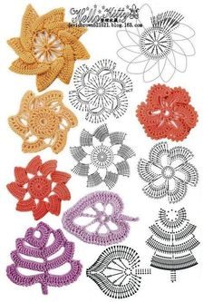 crochet flower...♥ Deniz ♥s