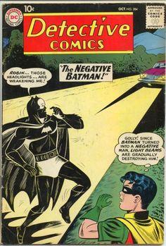 Detective Comics 284 Batman Robin DC cover