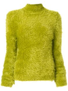 high neck chenille jumper