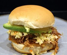 Slow Cooker Pulled Pork        Hold onto your seats..I'm back! Well, I really didn't go anywhere, I got really busy at wor...