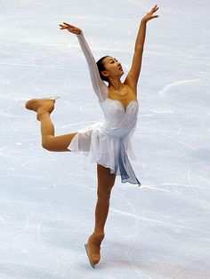 figureskatingcostumes:  Mai Asada's free skate dress at the 2006 Skate America. Photo by Barry Mittan.