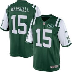 Brandon Marshall New York Jets Nike Limited Jersey - Green - $89.99