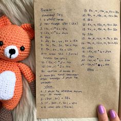 amigurimi ( ・ ・ ・ Here I am with the recipe of the magnificent sister foxes 👻 I was very asking, let& knit 🤗 The. Crochet Fox, Crochet Patterns Amigurumi, Crochet Dolls, Free Crochet, Album Design, Crotchet Animals, Basic Embroidery Stitches, Anime Dolls, Crochet For Beginners