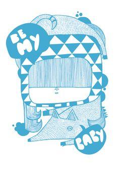 Threefivefifty - amaia arrazola illustration