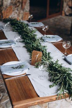 eco table settings сервировка в стиле эко