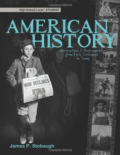 American History - Student by James P. Stobaugh http://www.amazon.com/dp/0890516448/ref=cm_sw_r_pi_dp_2Loexb12ZF0FH