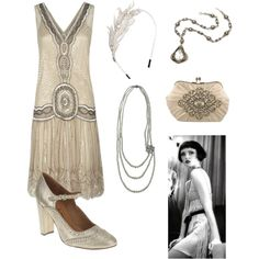 flapper girl by stephie530 on Polyvore