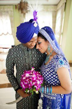 by Studio B photography interracial wedding photo, beautiful couple