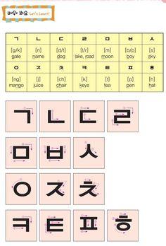 Korean Slang, Korean Phrases, Korean Words Learning, Korean Language Learning, Hangul Alphabet, Korean Handwriting, Learn Korean Alphabet, Learning Languages Tips, Learn Hangul