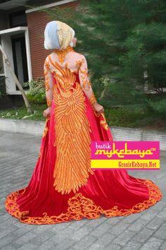 Kebaya Muslim Maroon, Kebaya Pengantin Hijab, Kebaya Hijab, Model Kebaya Hijab, Kebaya Pernikahan Hijab, Desain Kebaya Hijab