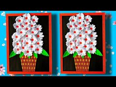 Beautiful Wall Hanging/DIY/Paper Art and Craft/Paper Flower - YouTube Diy Paper, Paper Art, Paper Crafts, Vj Art, Beautiful Wall, Decorative Items, Paper Flowers, The Creator, Arts And Crafts
