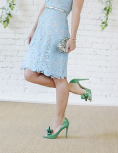 amazing green shoes