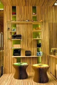 Bamboo Decoration In Living Room With Images Traditional Interior Design Interior Design With Bamboo Bamboo Decor