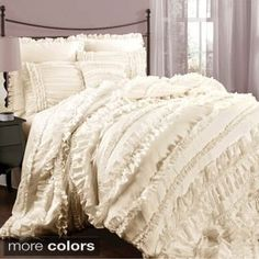 Lush Decor Belle 4-piece Comforter Set | Overstock.com Shopping - The Best Deals on Comforter Sets
