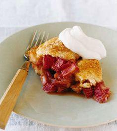 Country Rhubarb Cake