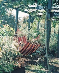 I want this! A garden and a beautiful,quiet place to read! What more could you want out of life?