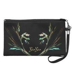 Elegant Fern Fractal Design Clutch Bag YiaYia - Leatherwood Design