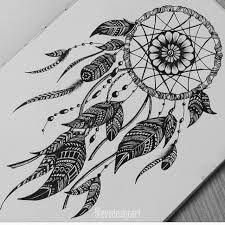 Zentangle Art sur In Doodle Art Drawing, Mandalas Drawing, Cool Art Drawings, Pencil Art Drawings, Art Drawings Sketches, Dream Catcher Drawing, Dream Catcher Mandala, Dream Catcher Tattoo, Mandala Tattoo Design
