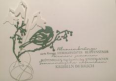 Spring Card (Stamp: Renke, Dies: Penny Black, Charlie & Paulchen)