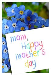 FREE CARD-Mothers day flowers
