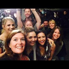 Nina's last day of shooting TVD~ BTS with TVD family
