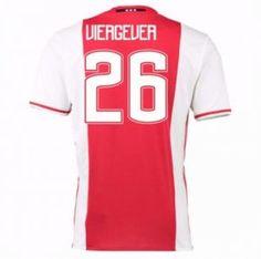 16-17 Ajax Home #26 Viergever Cheap Replica Jersey [G00725]