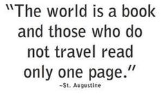 My favorite #travel #quote!