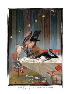 Julia Sarda's Alice in Wonderland spots
