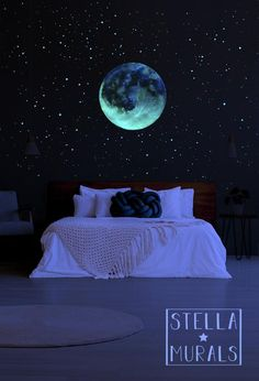 Stars In Bedroom Ceiling Lovely Moon Extra Shooting Stars and Realistic Star Stickers Glow In the Dark Star Ceiling Bedroom Ceiling, Bedroom Decor, Home Room Design, House Design, Galaxy Bedroom, Star Ceiling, Bedroom Night, Bright Rooms, Room Lights
