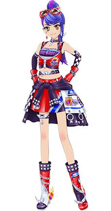 Girls' Flag Coord