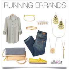 Stella & Dot   Ready for spring! Casual layers and a pop of color. Shop @ www.stelladot.com/mariaryoung