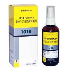 Traditional Chinese Herbal Hair Loss /Hair Regrowth 101 B Hair Formula for Male and Female Hair Loss with No Side Effects, 30 Days Money Back Guarantee by Fabao. $49.95. Natural, safe, effective and proven results. Proven results for more than 30 years. Stop hair loss and promote hair growth. Fabao 101 B is one of the original formula developed by Dr. Zhao Zhang Guang. Prevent thinning hair and hair loss among men and women. Topical solution for seborrheic dermatitis and ...