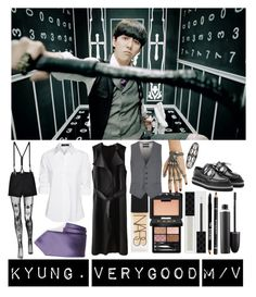 """""""Block B's Park Kyung 2."""" by ysh-r on Polyvore featuring moda, Hot Topic, Lord & Taylor, Gucci, MAC Cosmetics, Givenchy, NARS Cosmetics, Vivienne Westwood, CourtShop y DAVID DONAHUE"""