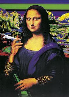 Mona Lisa fumadora