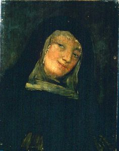 Francisco de Goya y Lucientes - A Nun from the Suite of Black Paintings Francisco Jose, Highway To Hell, Let Us Pray, Portraits, Spanish Artists, Pre Raphaelite, Old Master, Rembrandt, Art Boards