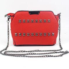 kai yunon Korean Women Fashion Rivet Handbag Shoulder Bag Large Tote Ladies Purse Aug 24