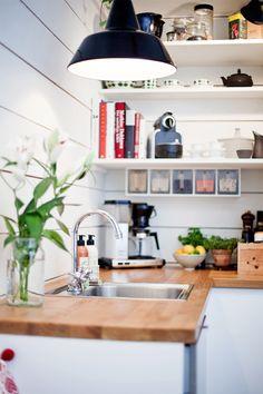 A welcoming scandinavian kitchen - My Paradissi