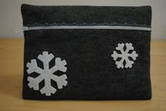 White Winter Clutch by GeauxCraft on Etsy, $12.00