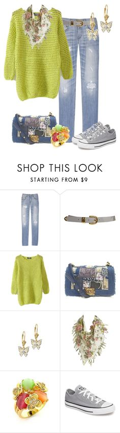 """ZAPATILLAS"" by outfits-de-moda2 ❤ liked on Polyvore featuring Acne Studios, Chanel, Wet Seal and Converse"