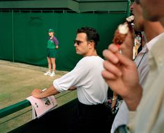 Martin Parr - GB. England. Wimbledon. Wimbledon Lawn Tennis. 1994.