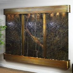 Attirant An Interior Waterfall Feature Is Great For The Home And Defines Peace And  Tranquility. Has Anyone Ever Told You Installing A Decoratiu2026