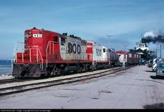 RailPictures.Net Photo: Soo 403 Soo Line EMD GP9 at St. Ignace, Michigan by Chuck Schwesinger