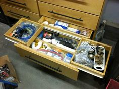 Side drawers