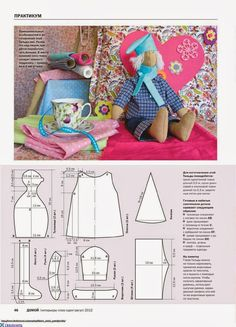 Mimin Dolls: Mais Tildas by edith Doll Crafts, Diy Doll, Doll Clothes Patterns, Doll Patterns, Tilda Toy, Doll Quilt, Doll Tutorial, Sewing Dolls, Doll Maker