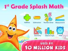 Addition and Subtraction Apps First Grade Math Worksheets, 1st Grade Math, Kindergarten Worksheets, Educational Apps For Kids, Special Educational Needs, Math 5, Fun Math, Math Games For Kids, Math Notebooks