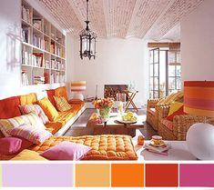 Colour Palette - Reds & Purples #decorbuddi #howtomixredandpurple #kidscolours #circustheme