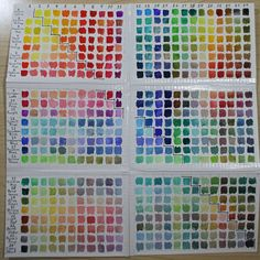 Here are my instructions for making your own color chart.  it comes in handy when you know just what color you want to paint but not sure how to do it.  Leeann's Studio Blog | Just another WordPress site | Page 2