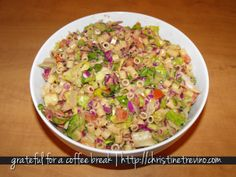 Copycat recipe for Portillo's Chopped Salad