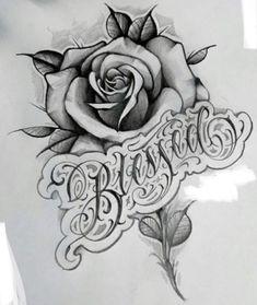Floral Skull Tattoos, Floral Tattoo Design, Flower Tattoo Designs, Rose Drawing Tattoo, Tattoo Design Drawings, Tattoo Sketches, Art Drawings, Chicano Art Tattoos, Body Art Tattoos